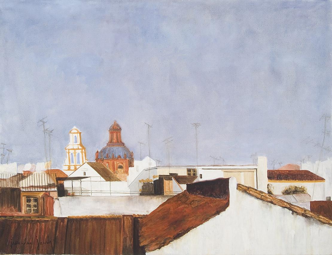 Séville Santa Cruz, 116 x 89 cm
