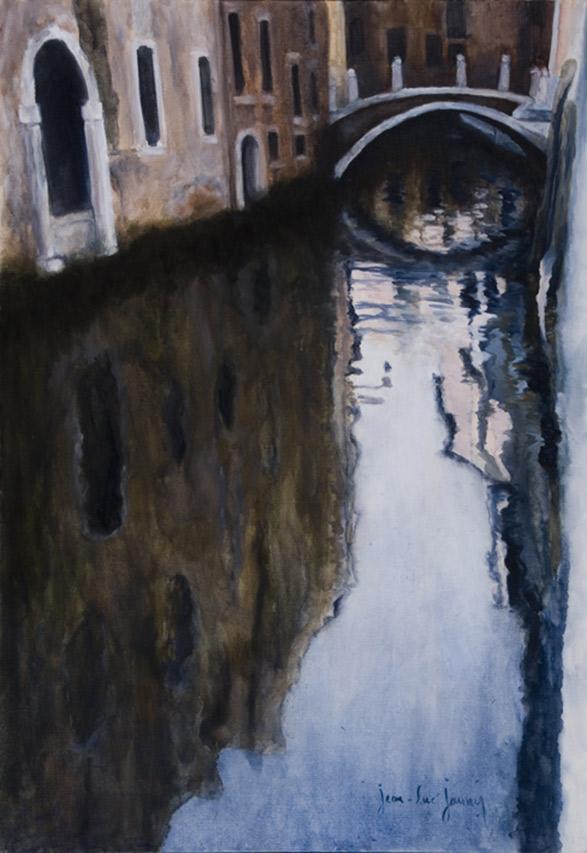 Venise en rose, 116 x 81 cm